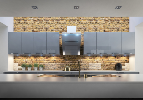 Cerney Gloss Dust Grey Wall, from Riley James Kitchens Gloucestershire