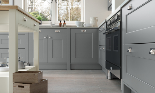 The Cherington_Dust-Grey-and-Porcelain-Cameo-1 - from Riley James Kitchens Stroud