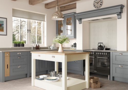 Cherington_Dust-Grey-and-Porcelain-Main-Shoot - from Riley James Kitchens Gloucestershire
