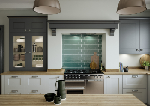 Cherington_Graphite-and-Light-Grey-Cameo-1 - from Riley James Kitchens Gloucestershire