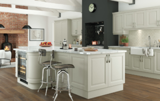 Hampton-painted-mussel-kitchen-hero - from Riley James Kitchens Stroud