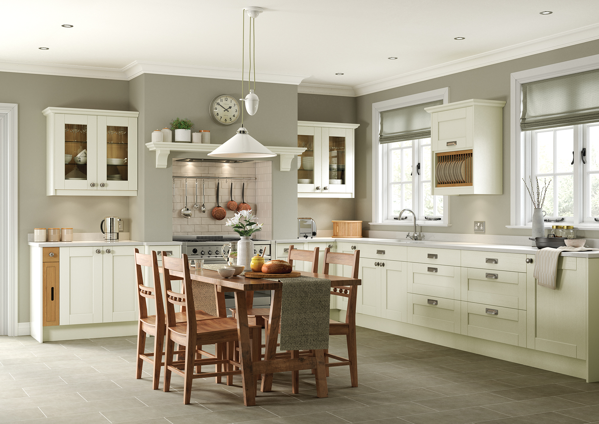 Kemble Ivory Main from Riley James Kitchens Stroud