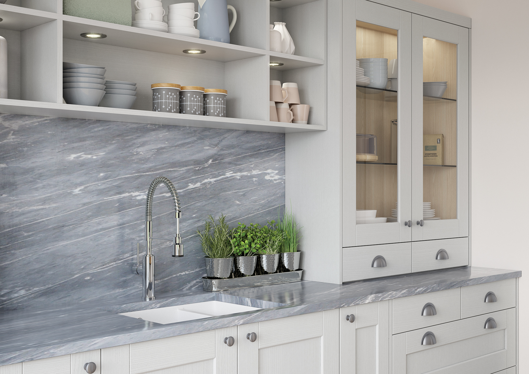 Kemble-Light-Grey-Cameo-2 - from Riley James Kitchens