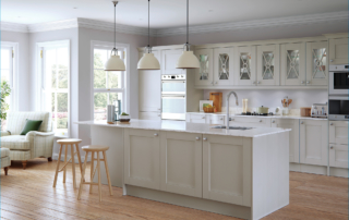 The Malborough Light Grey Main Shoot - from Riley James Kitchens Stroud