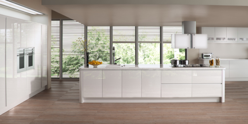 Siddington Gloss White Example from Riley James Kitchens