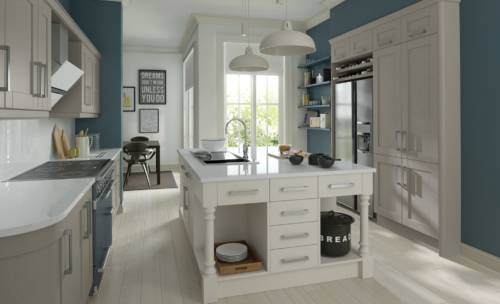 malborough-painted-stone-brilliant-white-kitchen-hero - from Riley James Kitchens Gloucestershire