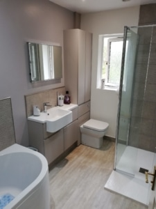 Riley James Bathrooms - Stonehouse Ensuite Installation 1